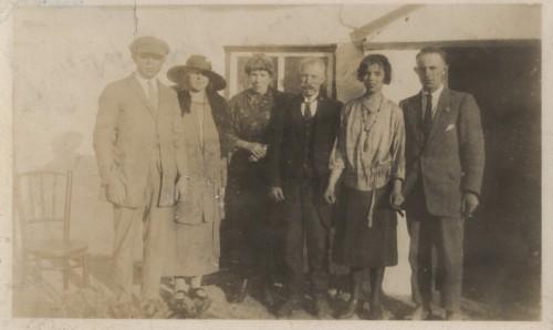 Kiernan family, Toome, c.1919